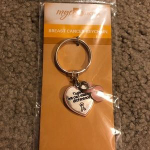 Breast Cancer Keychain - new